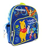 Winnie the Pooh Mini Backpack – Winnie the Pooh School Bag (Blue), Bags Central