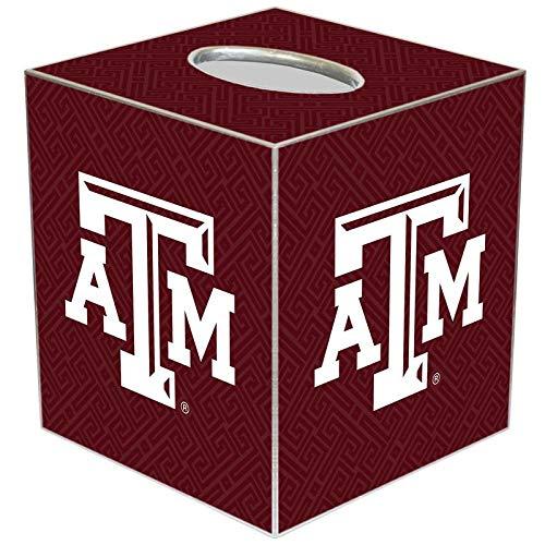 Texas A&M University Graduation Gift Paper Mache Tissue Box Cover