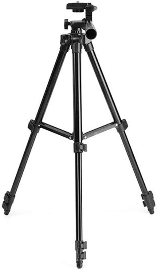 Color : Photo Color, Size : One Size BoeWan Photography Tripod Durable Aluminium Alloy Foldable Tripod Support for DSLR Camera Engineering Measuring Tripod
