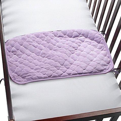 Baby Sheet Saver Pad (Lilac) by BE Basics