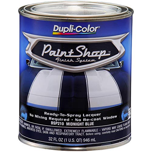 (Dupli-Color BSP210 Midnight Blue Paint Shop Finish System - 32 oz. )