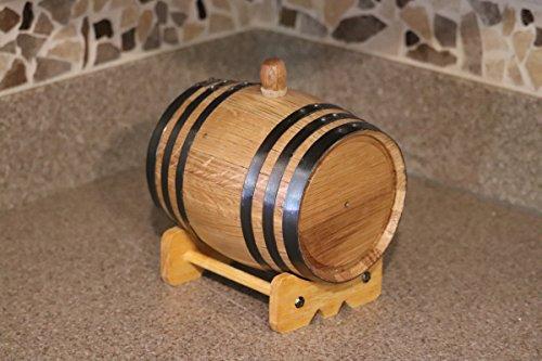 1-Liter American White Oak Barrel Whiskey Kit by Deep South Barrels (Image #4)