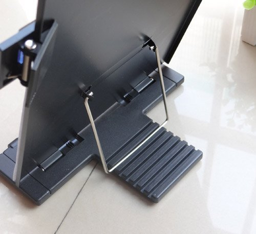 A4 New Black Metal Desktop Document Book Holder Stand With 7 Adjustable Positions by Life VC (Image #3)