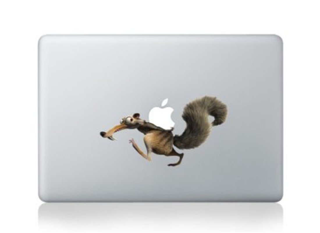 Ice Age Squarl Cartoon Character Decal Sticker for Macbook Laptop Air Pro Retina 13 14 15 Inch Cool