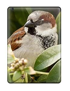 Pretty NKqgmmw8358HTpjr Ipad Air Case Cover/ Bird Sparrow Bird Animal Series High Quality Case