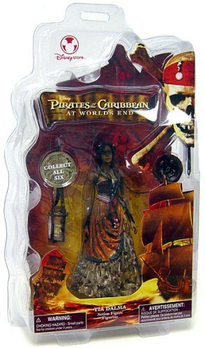 Disney Pirates of The Caribbean at World's End Tia Dalma Store Figure]()