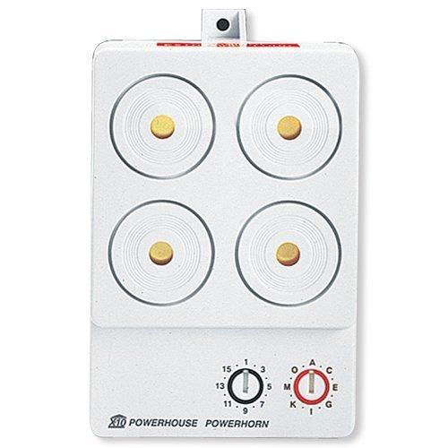 X-10 PowerHorn 110 Decibel Security Siren PH508/PSH01 by X10