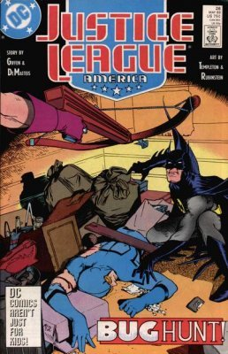 Justice League America Issue 26 (May 1989) Slice and Dice [Comic] (Justice League Dice)