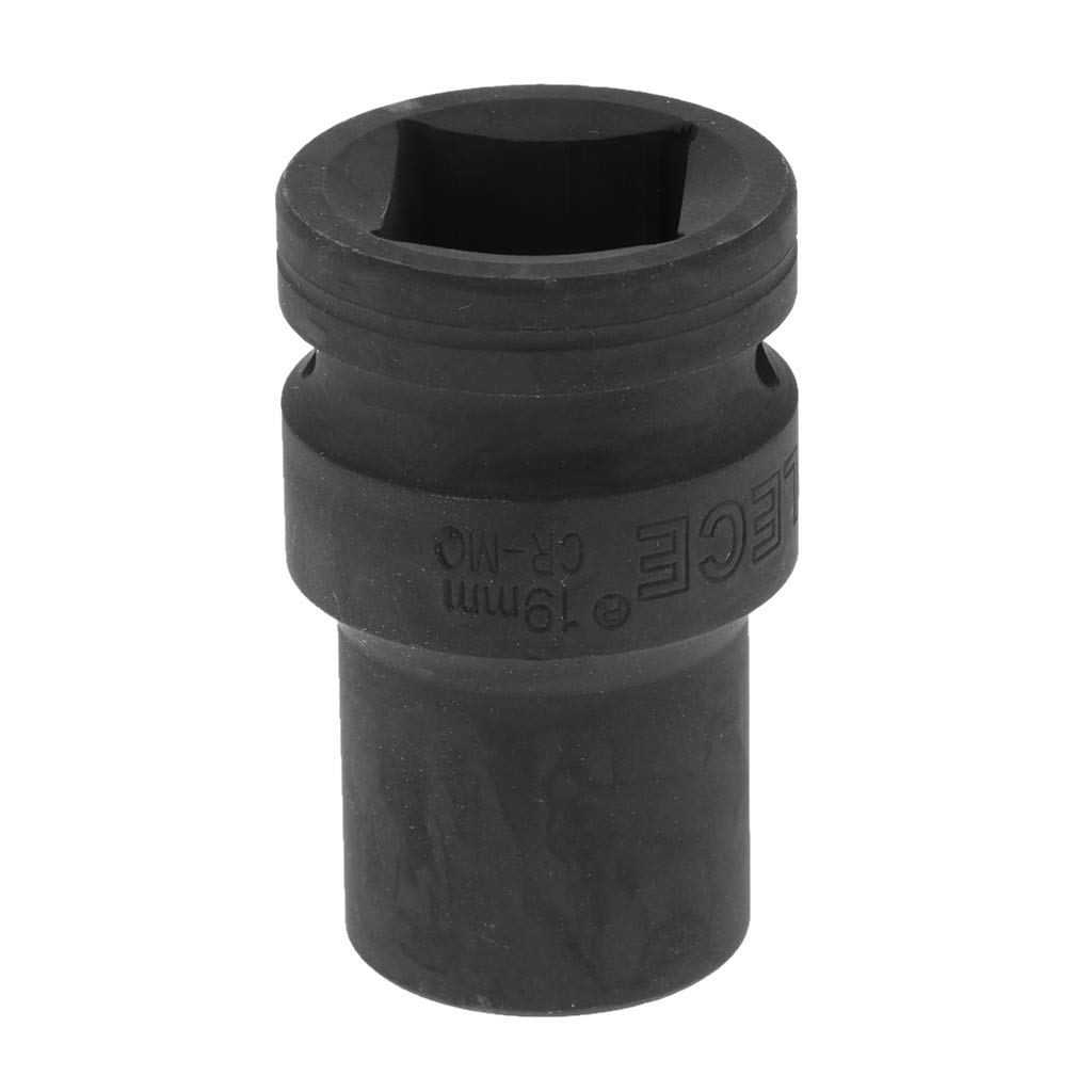 12 Point H HILABEE 3//4-Inch Square Drive Metric Deep Impact Sockets 19mm Black