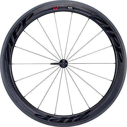 Zipp 404 Firecrest Tubular Front Wheel 700c V3 Black Decal