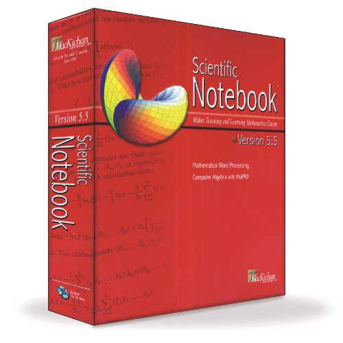 Price comparison product image Scientific Notebook 5.5