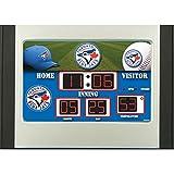 Team Sports America MLB Scoreboard Desk Clock
