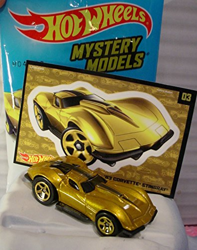 2015 Hot Wheels Mystery Models '63 Corvette Stingray (Gold) - CHASE!