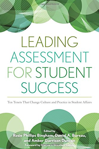 Leading Assessment for Student Success: Ten Tenets That Change Culture and Practice in Student Affairs