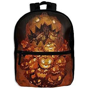 DGYEG44 Halloween Backpack School Bag Bookbag For Kids Boys Girls Womens