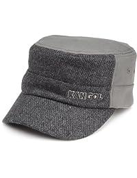 Kangol Mens Textured Wool Army Cap Hat