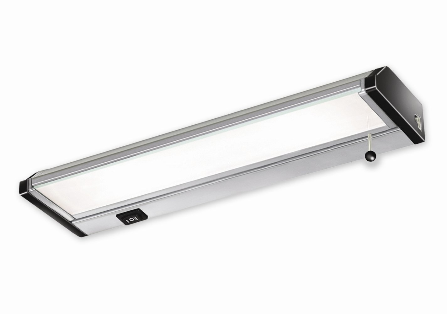 Good Earth Lighting G9182D-SSX-I 12-inch Xenon Convertible Under Cabinet Light Bar, Stainless Steel