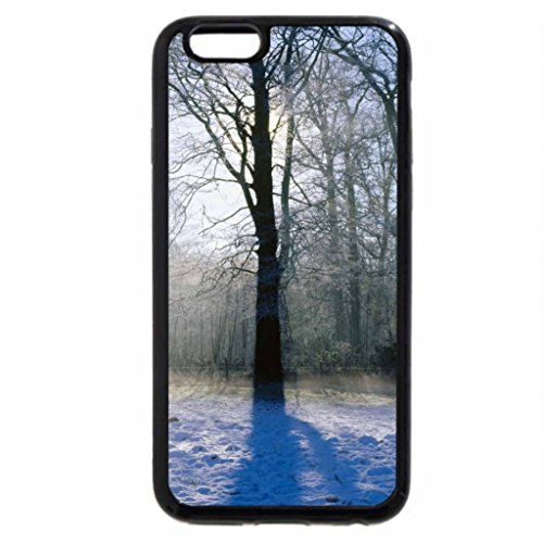 iPhone 6S / iPhone 6 Case (Black) norfolk england countryside in winter