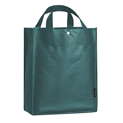 10 Packs of Grocery Bag Reusable Polypropylene Shopping Tote with Extra Reinforced - Market Street Shopping Center