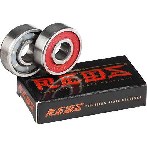 BONES REDS BEARINGS REPLACEMENT 2-Pack Skateboard Scooter In