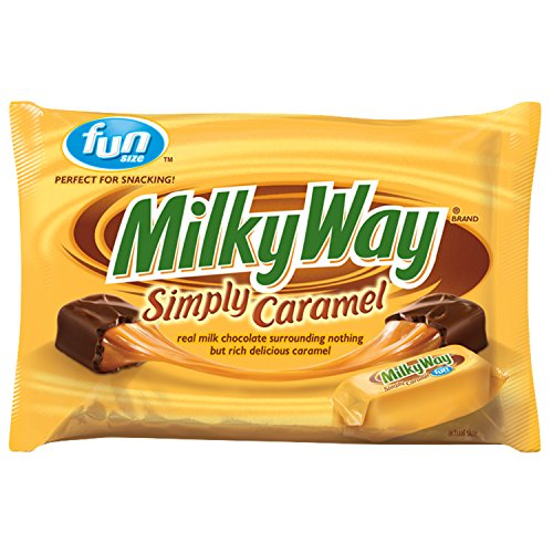 MILKY WAY Simply Caramel Milk Chocolate Fun Size Candy Bars 10.73-Ounce Bag (Pack of -