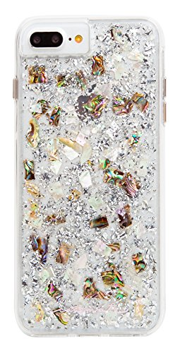 Case-Mate - iPhone 7 Plus Case - KARAT - Real Mother of Pearl - for iPhone 8 Plus / 7 Plus / 6s Plus / 6 Plus - Mother of Pearl