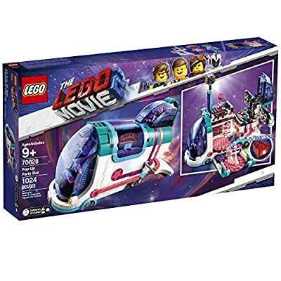 LEGO THE LEGO MOVIE 2 Pop Up Party Bus 70828 Building Kit, Build Your Own Toy Party Bus for 9+ Year Old Girls and Boys (1013 Pieces): Toys & Games