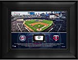 "Minnesota Twins Framed 5"" x 7"" Stadium Collage with a Piece of Game-Used Baseball - MLB Team Plaques and Collages"
