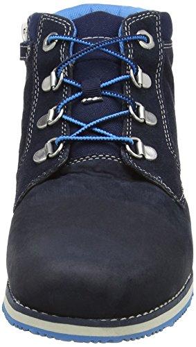 Timberland Rollinsford Pt, Unisex-Kinder Kurzschaft Stiefel Blau