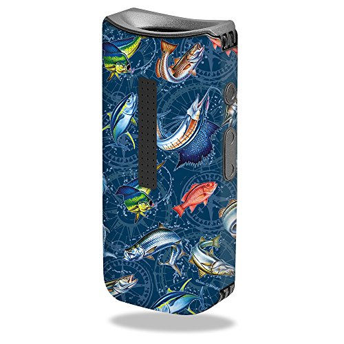 - MightySkins Skin for Davinci IQ Vape - Saltwater Compass | Protective, Durable, and Unique Vinyl Decal wrap Cover | Easy to Apply, Remove, and Change Styles | Made in The USA