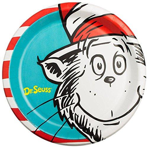 BirthdayExpress Dr Seuss Party Supplies - Dinner Plates (8)