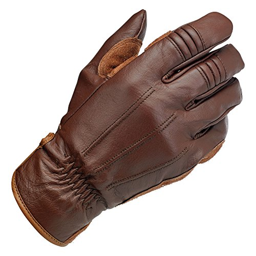 - Biltwell Work Gloves (Chocolate, Large)