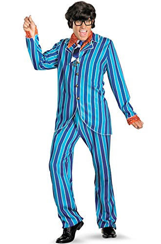 Mememall Fashion Austin Powers Carnaby Suit Deluxe Adult Costume ()