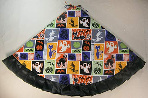 Arkansewn Halloween Tree Skirt, 47