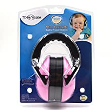 TOENNESEN Baby/Kids Ear Muffs Noise Cancelling Headphones Noise Reduction Ear Defenders Ear Protection with Foldable Headband for Kids from 3 Month to 12 Years (Pink-Kids Size)