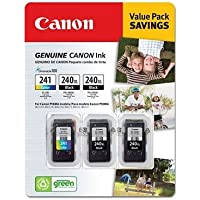 Canon PG-240XL/CL-241Ink Cartridges - Combo Pack, Black