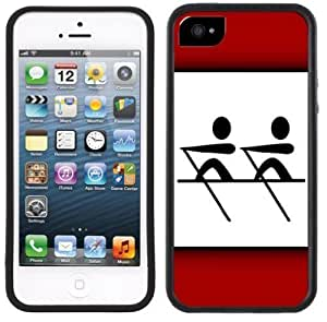Crew Rowing Handmade iPhone 5 5S Black Case
