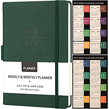 Amazon.com : Aurelia Maxi Week-at-A-Time 18 Month Planner ...