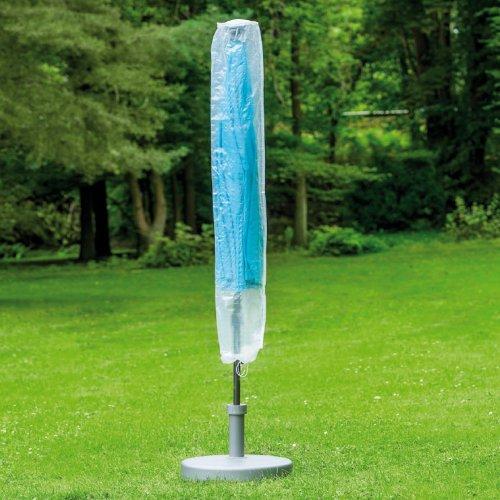 Schutzhülle für Gartenschirme ø 250-450 cm, ca.51x193 cm, transparent