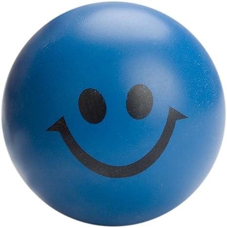 GOGO sonrisa cara/alivio del estrés pelota bola, espuma blanda ...