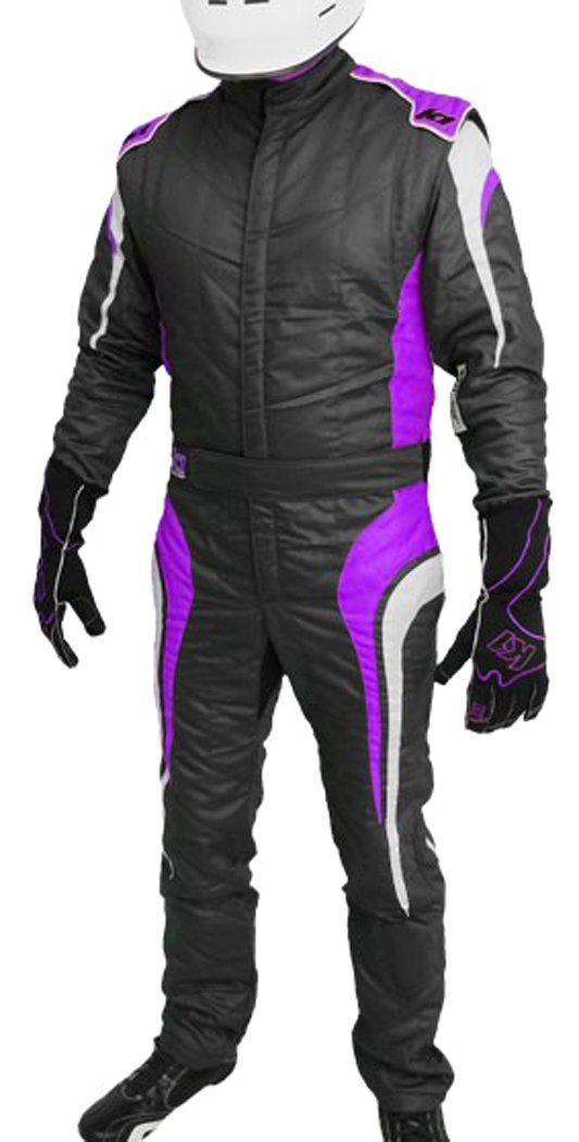 Yellow, Large K1 Race Gear GT Nomex SFI 3.2A//5 Auto Racing Suit