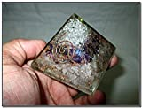 Jet New Rose Quartz Crystal Amethyst Unique Chakra Orgone Pyramid Free Booklet Jet Internationl Crystal Therapy Crystal Gemstones Copper Metal Mix Rare Healing Positive Energy Tetrahedron Sacred Geometry Memory Concentration Meditation