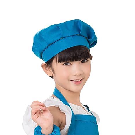 Befaith El cabrito de la seta del cocinero de los niños ca El sombrero del  cocinero c6053aa98b5