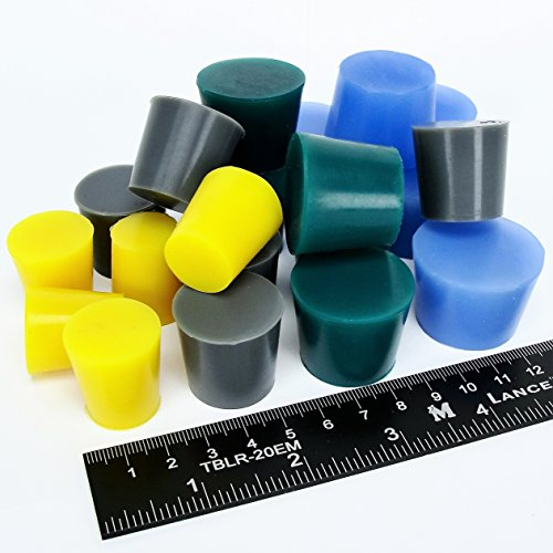 20pc Extra Large High Temp Silicone Rubber Plug Kit Powder Coating Custom Paint (Eastwood Powder Coating)