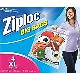 ziploc big bags - Ziploc Big Bag Double Zipper, X-Large, 4-Count