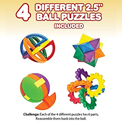 IQ Challenge Set by GamieUSA - 7 Pcs Kids Educational Toys for 5 Year Olds - Highly Stimulating Brain Teasers - Challenging IQ Games, Mental Exercises for Sharp Young Minds - 100% Child Safe …: Toys & Games