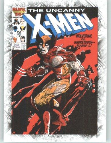 Marvel Beginnings Breakthrough Cover Issues #B68 Uncanny X-Men #212 (Non-Sport Comic Trading Cards)(Upper Deck - 2012 Series -