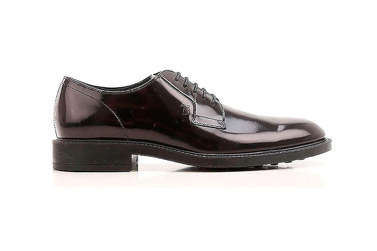Tod's Schuhes Herren. Lace-up in Leder schwarz, Herren. Schuhes 485448