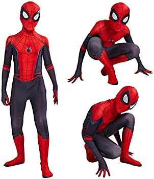 Spider Man Far From Home Costume Zentai Men Jumpsuit Cosplay Peter Parker Outfit