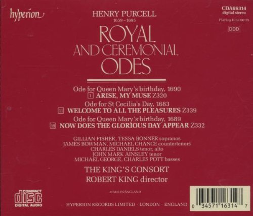 Royal & Ceremonial Odes: Arise My Muse